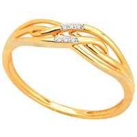Ag Real Diamond FANCY RIBBON SHAPE DIAMOND RING AGSR0149