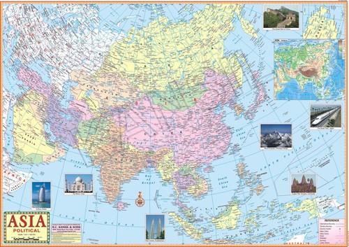 Asia Political Map