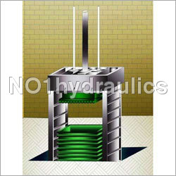Fiber- Cotton Baling Press