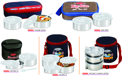 2 Case Insulated Flate Tiffin