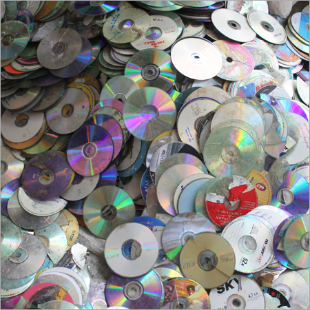 Plastic CD Metallised