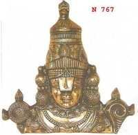 Balaji Face Mini Black Metal