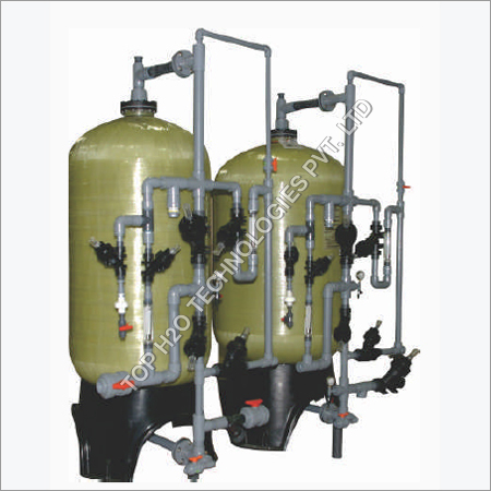Softener Base Water Treatment Plant