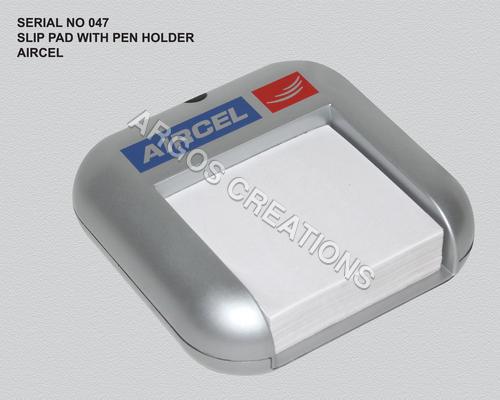 Slip Pen With Pen Holder