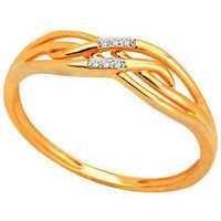 Bling Diamond Accessories Daily Wear FANCY RIBBON SHAPE DIAMOND RING BGR076