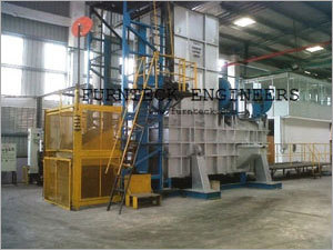 Hydraulic Tilting Melting Furnace