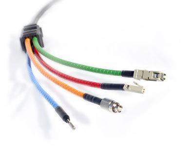Finolex White telecommunication optical fibre cables