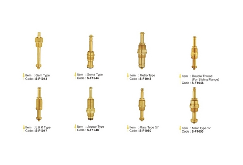 Cartridges for Concealed Valves
