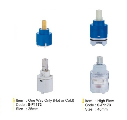 Single Lever Ceramic Disk Cartridges