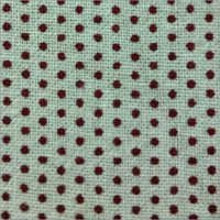 Dotted Printed White Sheeting Fabric