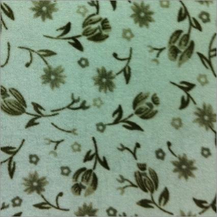 Flower Printed Denier Fabric