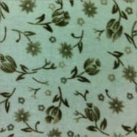 Flower Printed Denier Fabric