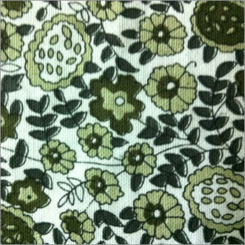 Multicolor Floral Print Oxford Fabric