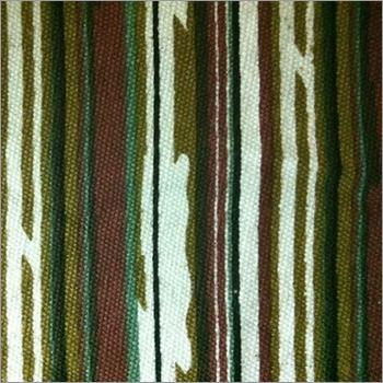 Multi Color Striped Canvas Fabric
