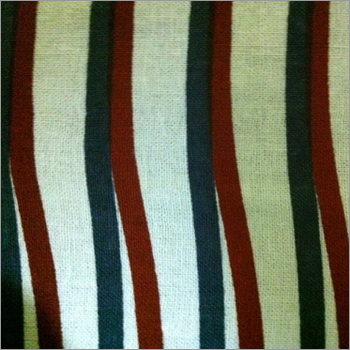 Tilted Stripes Printed Fabric