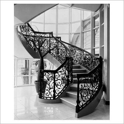Bronze Stair Railings