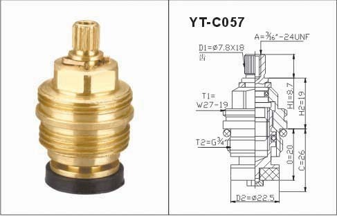 Brass Tap Faucet Cartridge
