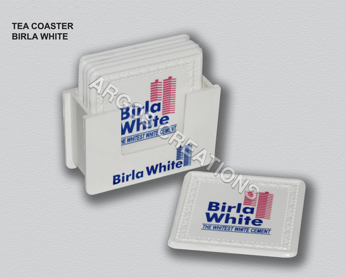 Birla White Tea Coasters
