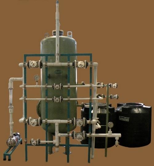 Industrial Water Demineralization Plants