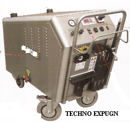 HIGH PRESSURE STEAM JET CLEANER PORTABLE TYPE