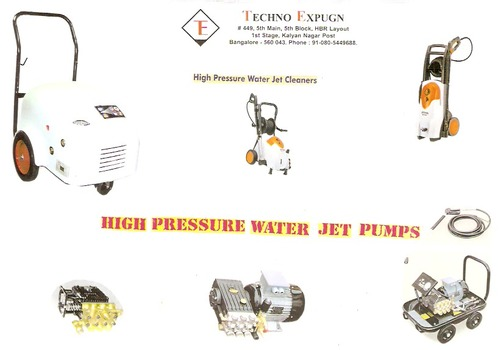 Water Jet Cleaning Equipments