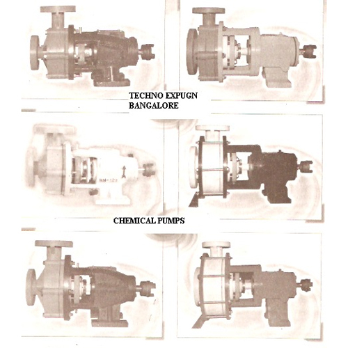 Chemical Pumps Made Up P.P./S.S./PVDF