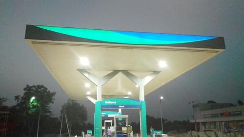Petrol Pump Canopies