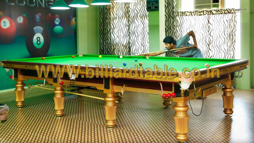 Steel Cushions Snooker Table