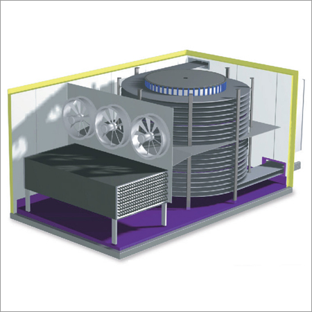 Spiral Freezers Utilizing Turnkey Projects