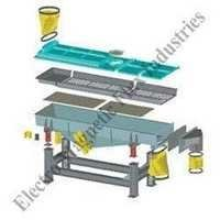 Vibratory Conveyor Screener