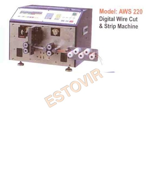 Digital Wire Cut & Strip Machine