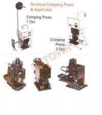 Terminal Crimping Press & applicator