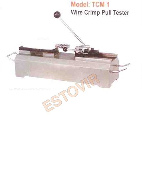 Wire Crimp Pull Tester