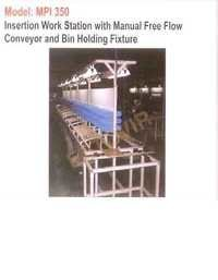 Motorised Free Flow Manual Insertion Coveyor 3