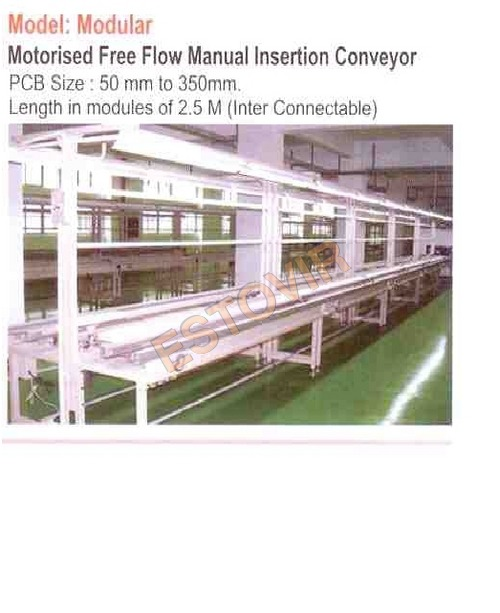 Motorised Free Flow Manual Insertion Coveyor2