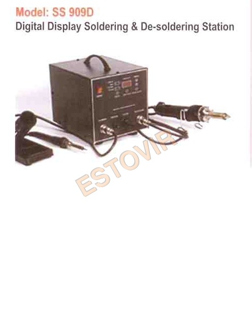 Digital Display Soldering & De-soldering Station