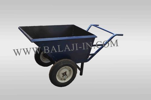 Single Double Wheel Trolley