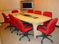 Meeting Table with Glass