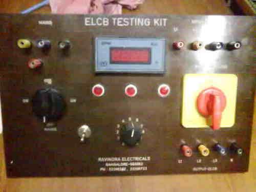 ELCB/ RCCB Testing Equipment