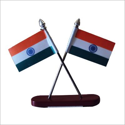 Office Table Showpiece Flag