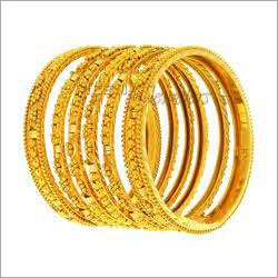 Fashionable Gold Plated Bangles