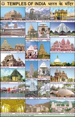 Temples of India Chart