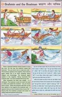 Brahmin & the Boatman Story Chart