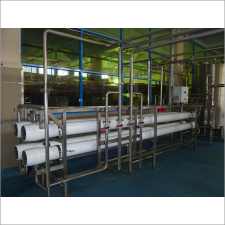 High Capacity Packaged Drinking Water Plant