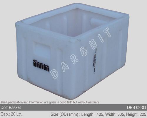 Sintex Doff Stackable Baskets Crates