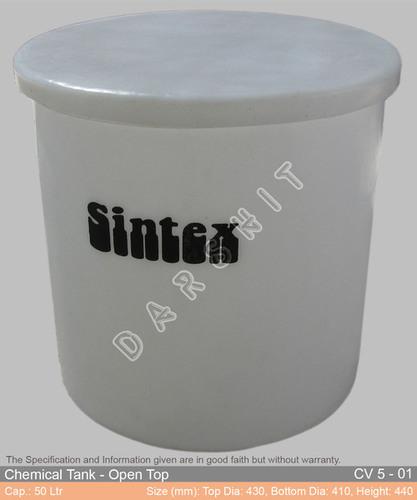 Sintex Open Top Chemical Storage Tank