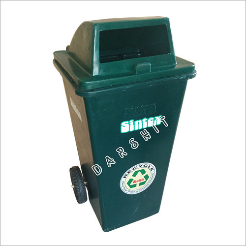Waste Bin with Wheels with Open Type