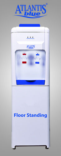 Atlantis Blue Hot and Cold Floor Standing Water Dispenser