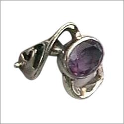 Semi Precious Amethyst Ring