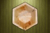 Hexagon Areca Leaf Bowl